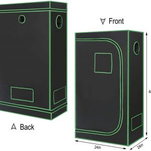 2 Ft X 4 Ft Full Cycle Reflective Grow Tent For Indoor Gardening