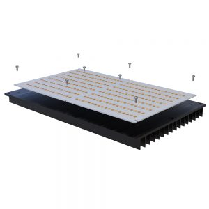 Heatsink for QB288 led boards led plant grow light