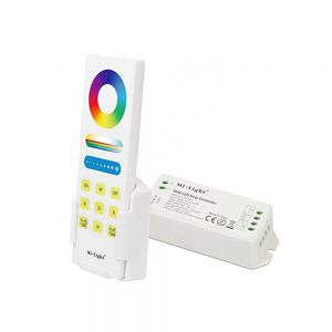 Touch remote rgb controller for led strip lights