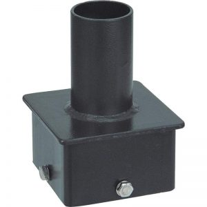 Round Pole Bracket Single Vertical Bracket Adapter