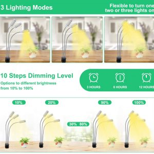 LED Growing Light Full Spectrum for Indoor Plants