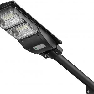 4000LM Solar Street Light-6000K LED Solar Powered Street Lamp