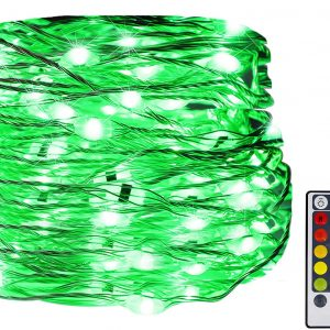 USB Fairy String Lights, 33Ft 100 LED Waterproof 16 Colors Changing